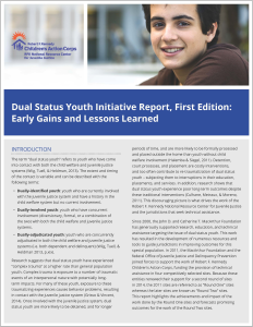 Dual Status Youth Initiative Report 1st Ed Cover