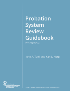 Probation System Review Guidebook 2nd Edition - Cover